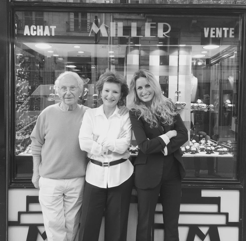 photo famille MILLER - Miller : bijoux anciens, modernes et signés