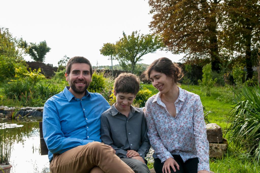 photo en famille 1024x680 - Séance photo en famille avec le photographe Xavier Breuze